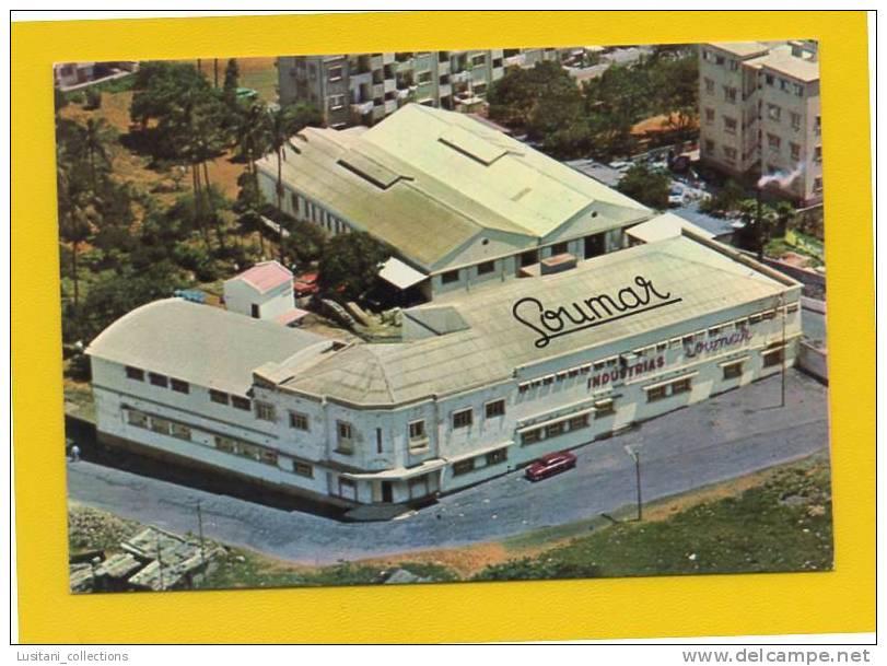 ADVERT POSTCARD AFRICA MOZAMBIQUE LOURENÇO MARQUES FACTORY MOÇAMBIQUE 1960ys - Mozambique