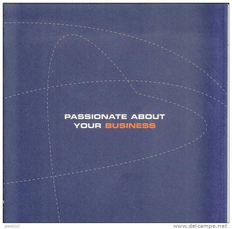 Passionate About Your Business - Publicité De Lancement SN Brussels Airlines - Publicités