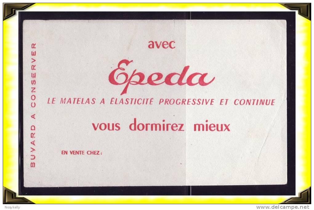 Santé  -  Buvard -  Matelas Epeda - Buvards, Protège-cahiers Illustrés