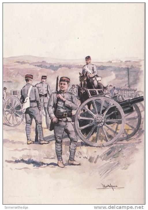 MILITARY UNIFORMS OF PORTUGAL ARTILHARIA DE MONTANHA 1911 (U14125) - Uniformes