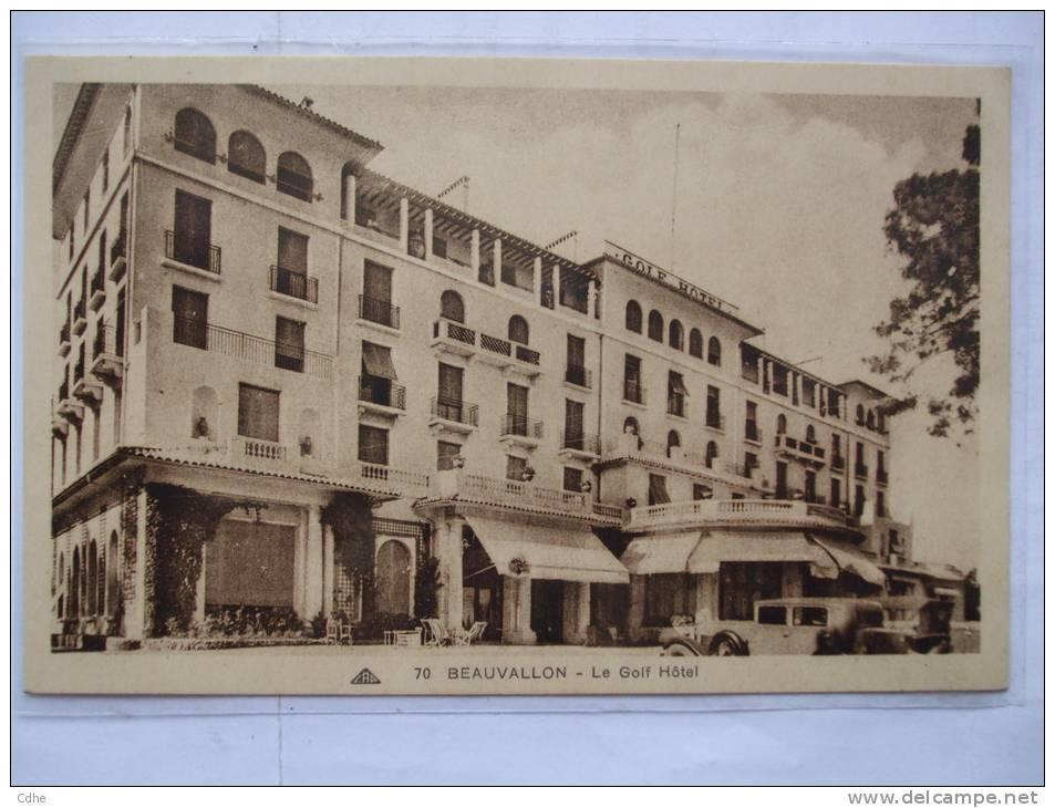 83  - BB - BEAUVALLON - LE GOLF HOTEL - France