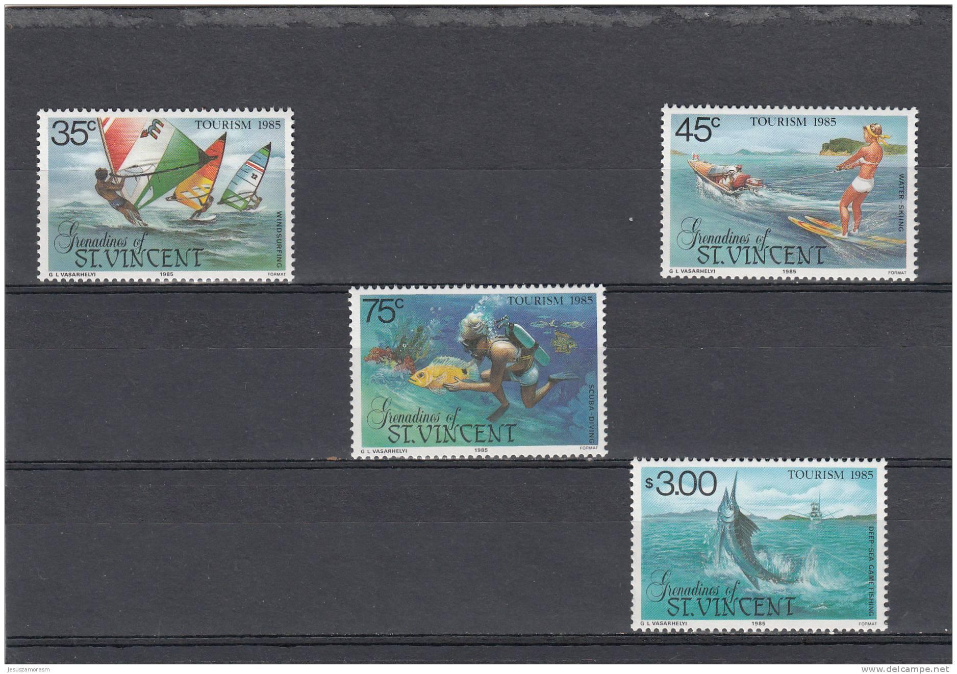 San Vicente Y Las Granadinas Nº 408 Al 410 - St.Vincent Y Las Granadinas
