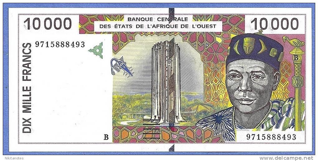 West African States Benin 10.000 Francs 1994, P.214Bb Xf - Bénin