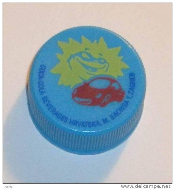 COCA-COLA Plastic Caps ( Croatia - Limited Issue 1999. ) Cap Capsule Plastique Capsules - Caps