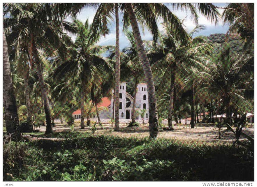 Samoa Américaine, Ofu Island, Eglise-church, Circule Non - Samoa Americana