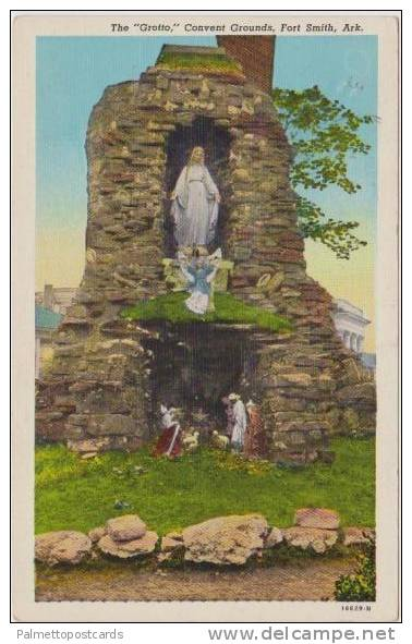 The Grotto, Covenant Grounds, Fort Smith, Arkansas 1930-40s