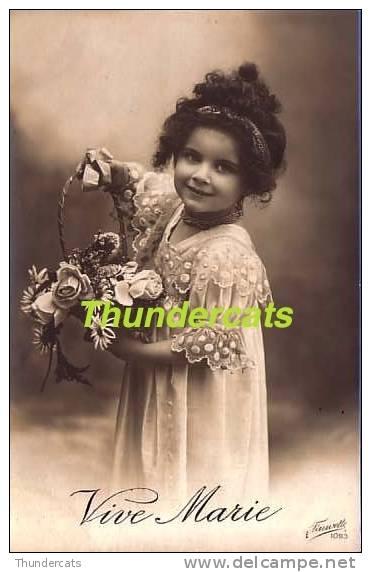 RPPC REAL PHOTO POSTCARD BEAUTIFUL LITTLE GIRL  ** CPA JOLIE PETITE FILLE - Enfants