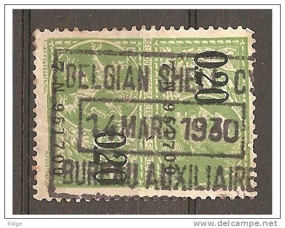 Mj-2290    BELGIUM SHELL COMP  //BUREAU AUXILIARE   1930 - Stamps