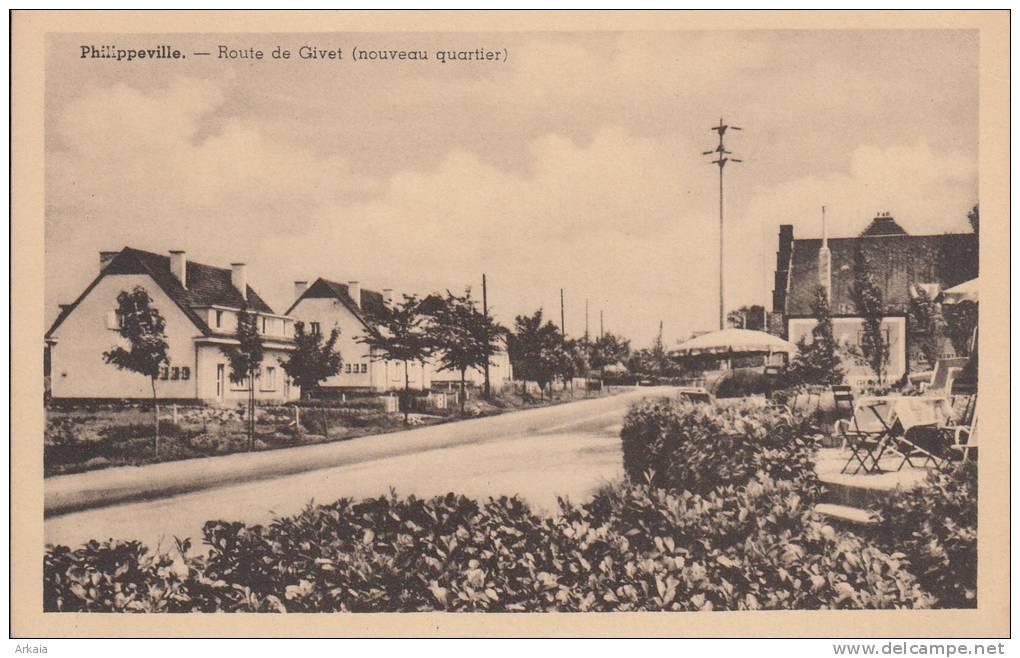 Philippeville - Route De Givet - Philippeville