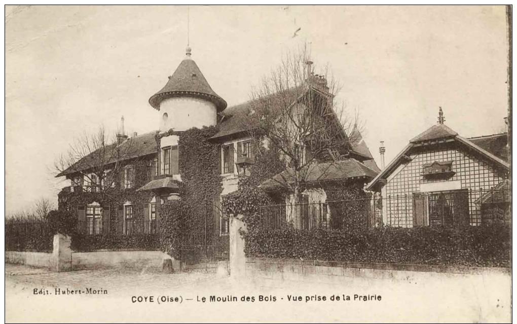 60- Coye Le Moulin Des Bois Vue Prise De La Prairie - France