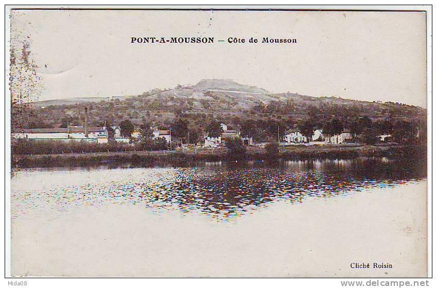 54. PONT A MOUSSON. COTE DE MOUSSON. Edition ROISIN. - Pont A Mousson