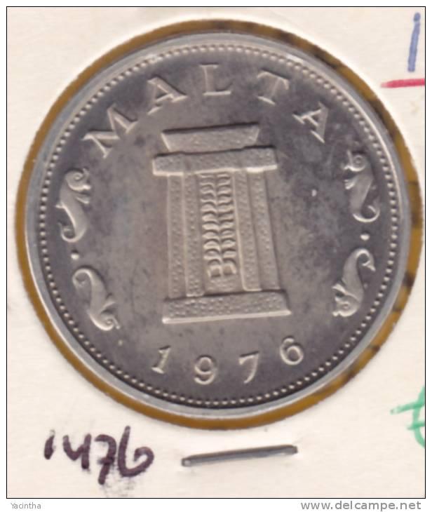 @Y@  Malta  5 Cent  1976  Proof      (1476) - Malte