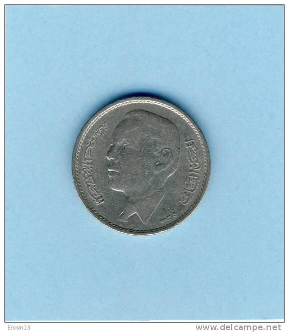 MONNAIE - MAROC - 1 Dirham Hassan II 1968 - Marruecos