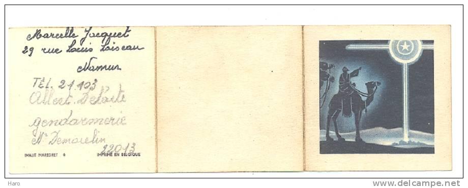 Calendrier 1947en 3 Volets  (b85)- Namur ??? - Calendriers