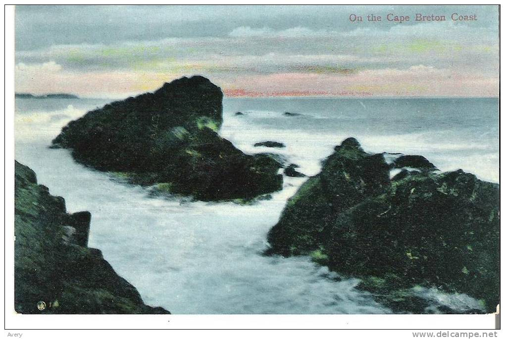 On The Cape Breton Coast, Nova Scotia - Cape Breton