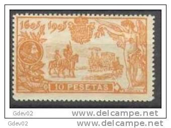 ES266SGV-L2342TSC.España.Spain.   Espagne.EL  QUIJOTE.1905.(Ed  266**) SIN Charnela.LUJO - Sellos