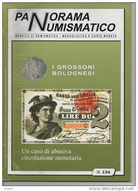 "Lib003-6 Rivista Mensile ""Panorama Numismatico"" N.134 Ottobre 1999 - Italian"