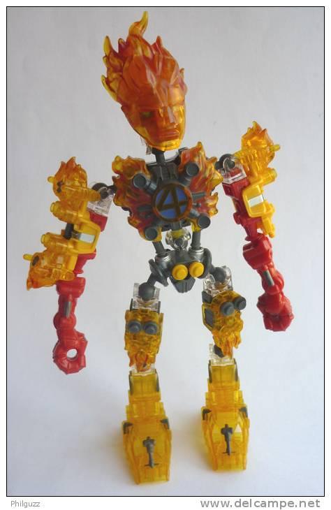 FIGURINE JOHNNY STORM - MONTABLE GENRE LEGO Légo - X MEN MARVEL 4 FANTASTIQUES - Marvel Heroes