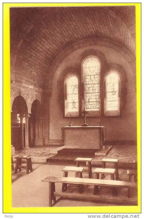 * Orval - Florenville (Luxembourg - La Wallonie) * (Nels) Abbaye D'Orval, Abdij, Chapelle St Bernard, Porche D'entrée - Florenville