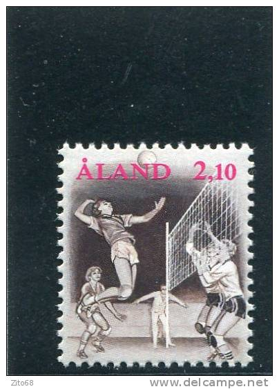 ALAND 1991 Y&T 47** - Voleibol