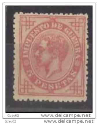 ES187-L2918TCSC..Espagne. Spain.ALFONSO  Xll .1876.(Ed 187) . MUY BONITO.CERTIFICADO - Celebridades
