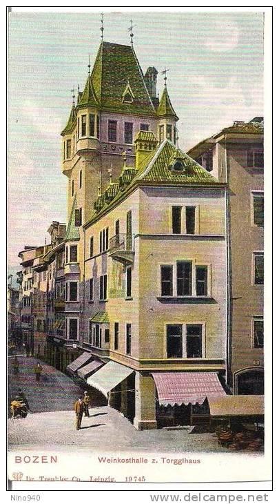 BOZEN - Weinkosthalle Z. Torggihaus- F/p - N/v - I - Bolzano (Bozen)
