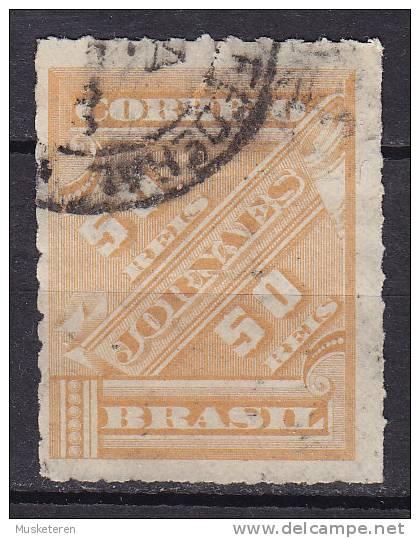 Brazil 1889 Mi. 69      50 R Zeitungsmarke JORNAES - Brasil