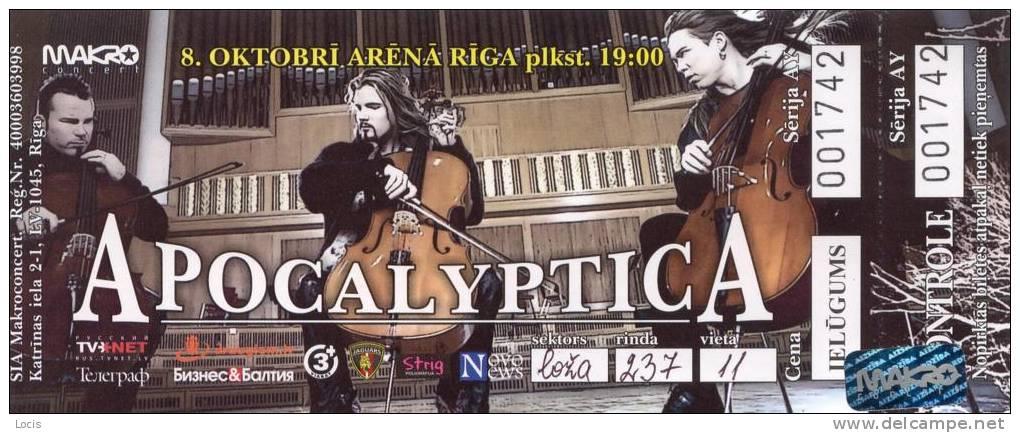 Concert tickets - Delcampe.com