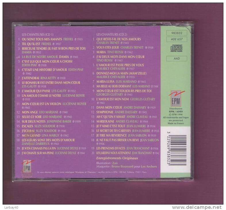 1 La Grande Parade Des Chansons D'amour - 2 Cd - Musik & Instrumente