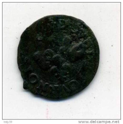 - FRANCE . LOUIS XIII . DOUBLE TOURNOIS   . - 987-1789 Royal