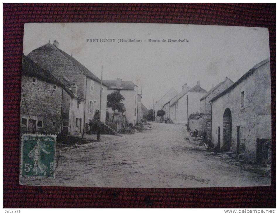 FRETIGNEY HAUTE SAONE ROUTE DE GRANDVELLE - France