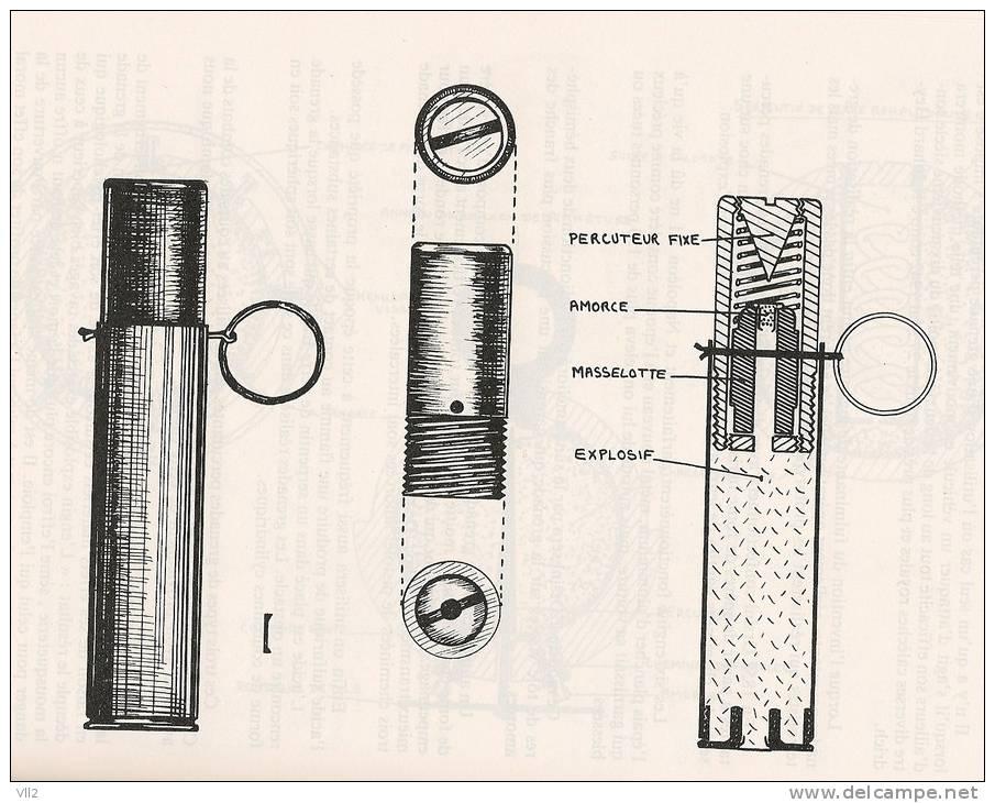 1914-1918 GRENADE FRANCAISE PERCUTANTE DE FABRICATION ARTISANALE - 1914-18