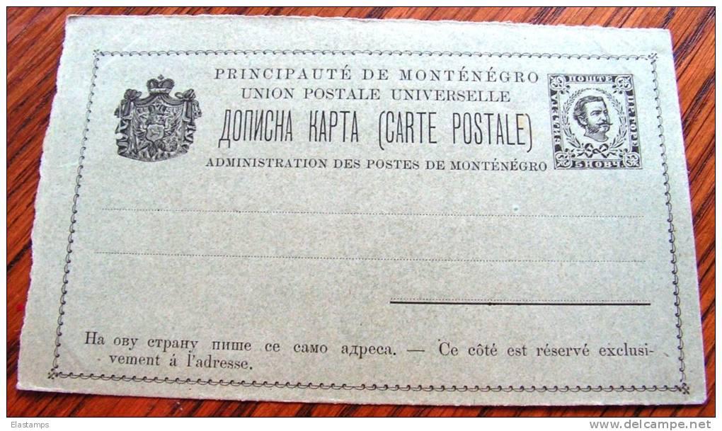 == Montenegro, Karte  * - Montenegro