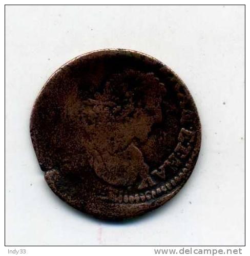 - FRANCE LOUIS XIII . DOUBLE TOURNOI . . - 987-1789 Royal