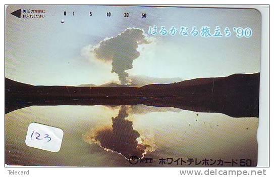 Volcan Volcano Vulkan Sur Telecarte (123) - Volcans