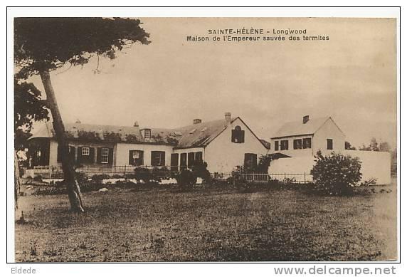 Sainte Helene Longwood Maison Empereur Sauvée Termites. Advert Decamps Back Anti Termite - Saint Helena Island