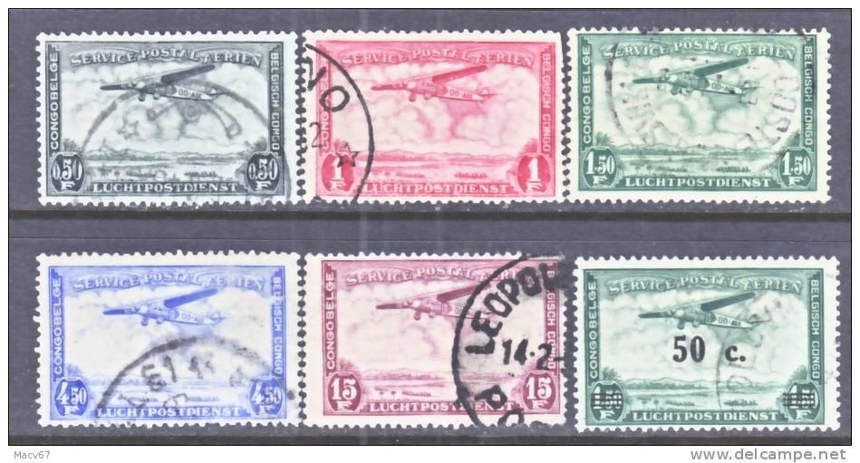 Belgium Congo  C 7+  (o) - Belgian Congo