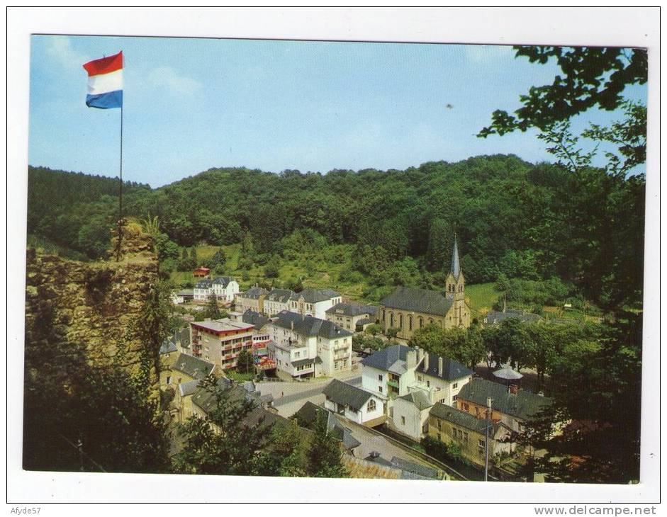 CPM:  LAROCHETTE (luxembourg):    Vue Générale .(N°701).        (5896) - Larochette