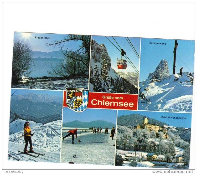 B62578 Chiemsee Ski Telepherique Teleski Multiviews Used Perfect Shape Back Scan At Request - Chiemgauer Alpen