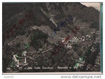 CP Italie - MEZZOLDO - Alta Valle Brembana - Bergamo