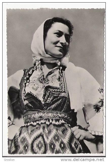 YOUGOSLAVIE COSTUMES NATIONAUX . NARODNA NOSNJA. MAKEDONIJA DRACEVA  611 - Serbie