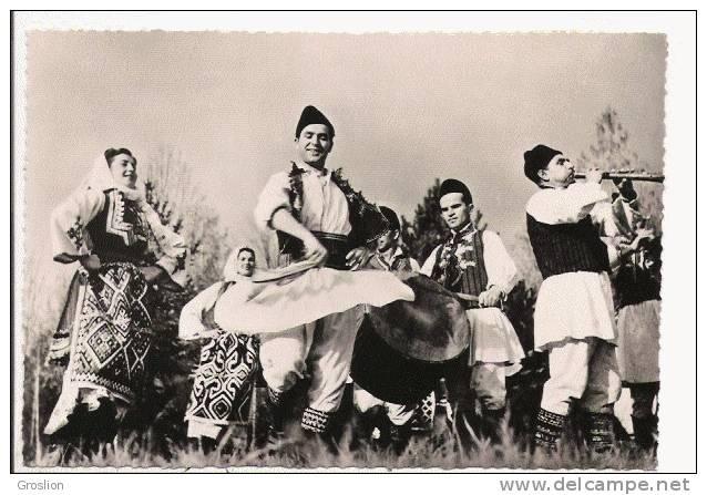 YOUGOSLAVIE COSTUMES NATIONAUX . NARODNA NOSNJA .MAKEDONIJA DRACEVA  616 - Serbie