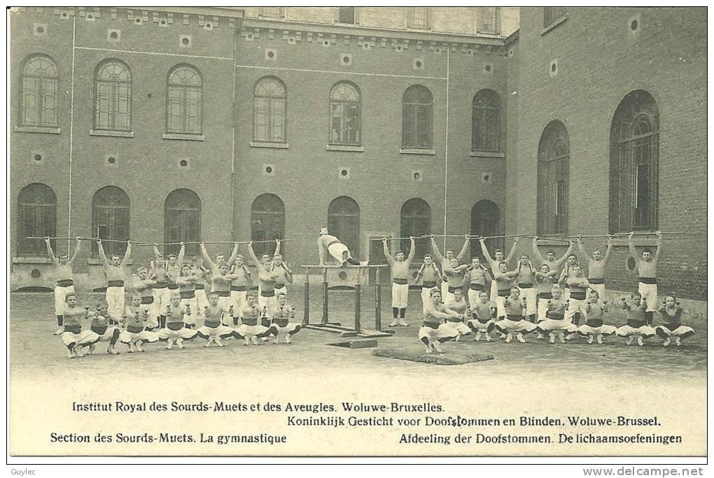 Woluwe - Bruxelles - Institut Royal Des Sourds Muets Et Des Aveugles - La Gymnastique - Santé, Hôpitaux