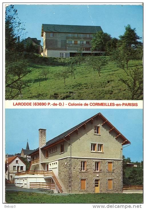63 Larodde - Colonie Vacances De Cormeilles En Parisis - Autres Communes