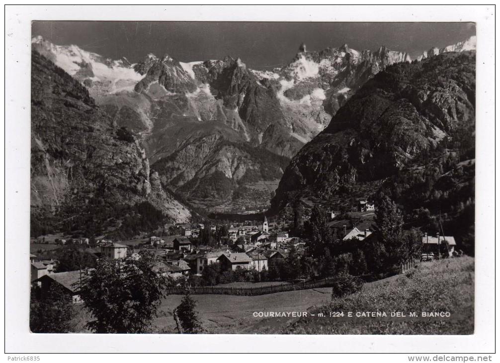 Courmayeur-X- Paesaggio E La Catena Del M. Bianco - Italia