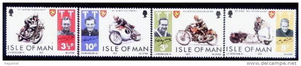 Man 0029/32 **  Motos. 1974 - Man (Eiland)