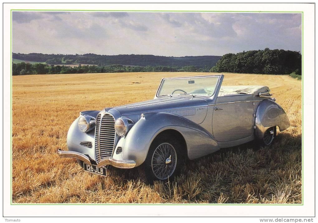 Delahaye 135 Cabriolet  -  1938 - Voitures De Tourisme