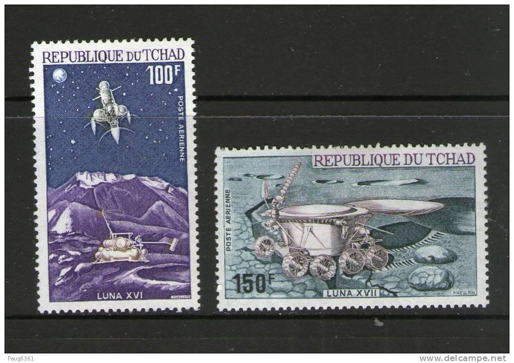 TCHAD 1972 LUNA  YVERT  N°A125/26  NEUF MH* - Espace
