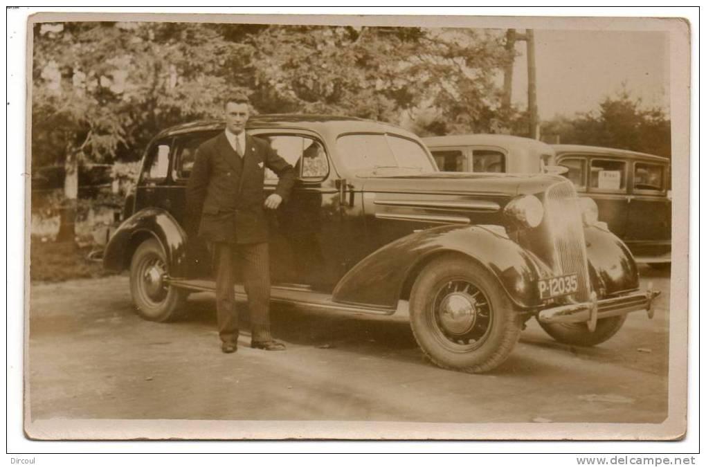 "20473   -  Ancienne  Voiture  - Taxi  ""   Carte  Photo - Taxi & Carrozzelle"