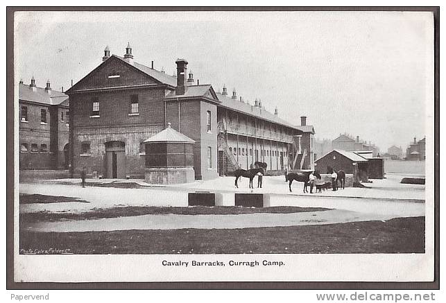 Kildare CURRAGH CAMP Cavalry Barracks  Ir81 - Kildare